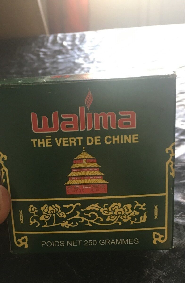 Walima thé vert de Chine - Product - fr