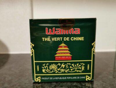 Walima thé vert de Chine - Nutrition facts - fr