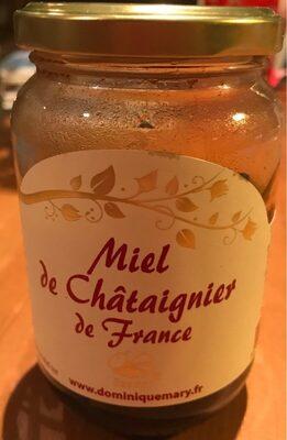 Miel de chataigner de France - Produit - fr
