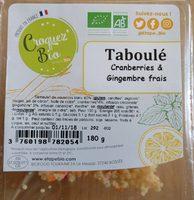 Taboule - Produit