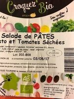 Salade De Pates Pesto Et Tomates Sechees - Produit - fr