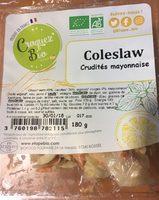 Coleslaw crudités mayonnaise - Voedingswaarden - fr