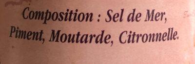 Sel fin - Ingredients - fr