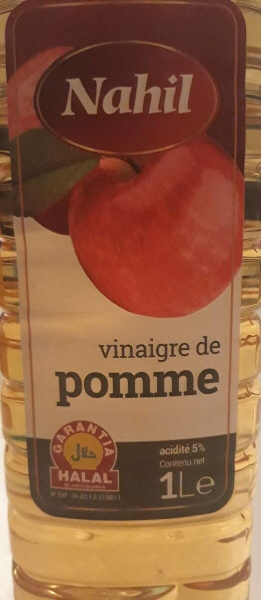 Vinaigre de pomme Nahil - Product - fr