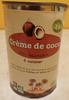 Crème de coco - Product