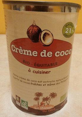 Crème de coco - Product - fr