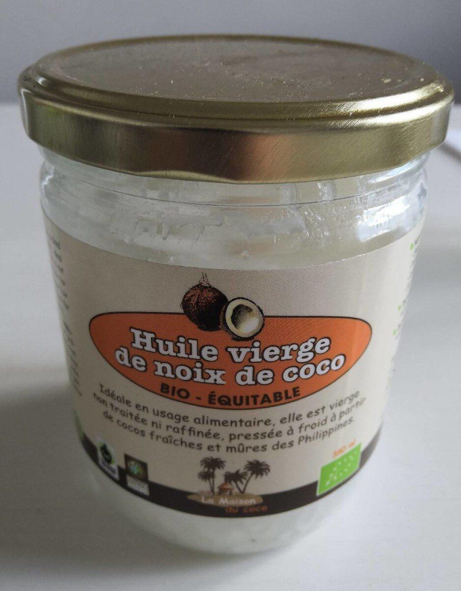 Virgin coconuts oil - Produit