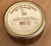 Cassoulet au confit de canard - Product - fr