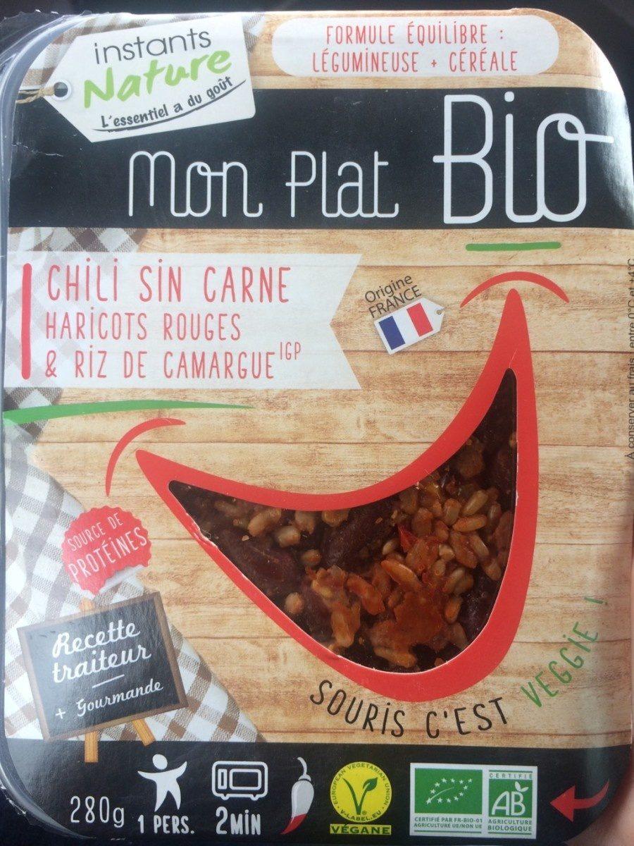Mon Plat Bio - Chili Sin Carne - Produit
