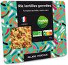 Salade riz lentilles germées - Product
