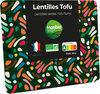 Lentilles germées tofu fumé - Product