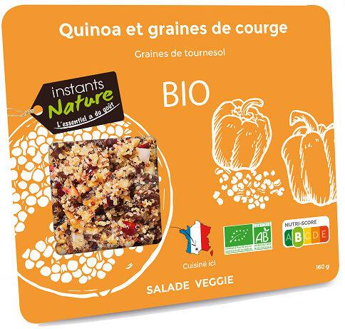 Salade quinoa et graines de courge - Produit - fr