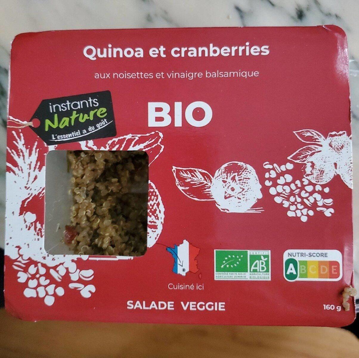 Instants Nature Quinoa et cranberries - Produit - fr