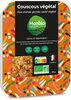Couscous Végétal, pois chiches germés, sauté végétal - Product