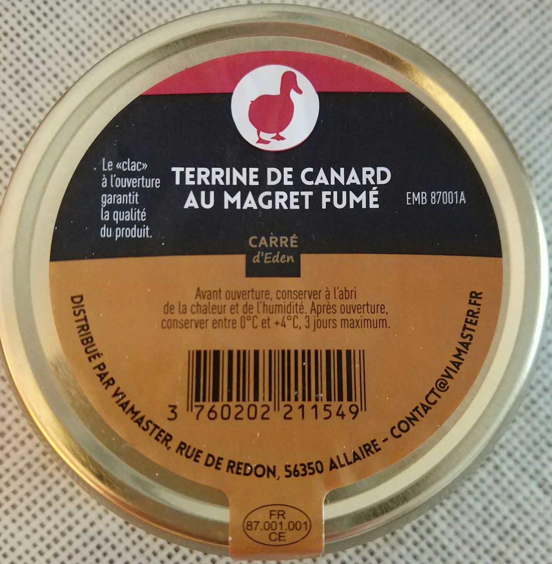 Terrine de canard au magret fumé - Product - fr