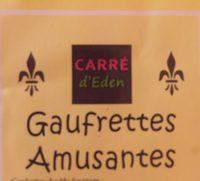Gaufrettes amusantes parfum vanille - Product - fr