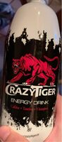 CRAZY TIGER ENERGY PET 1L - Product - fr