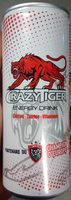Crazy Tiger Energy Drink - Product