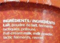 Fromage blanc artisanal campagne - Ingredienti - fr