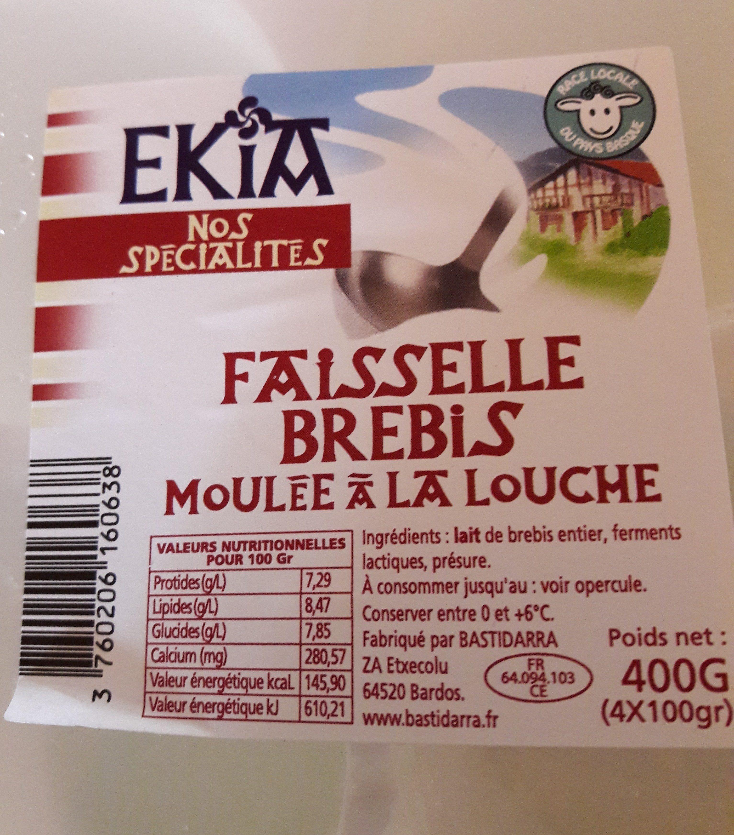 Faisselle de brebis - Ingredienti - fr
