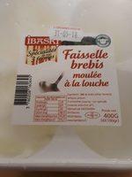 Faisselle brebis moulée à la louche - Produit - fr