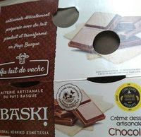 Crème dessert artisanale chocolat - Produit - fr