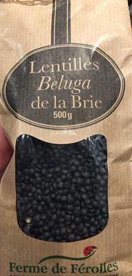 Lentilles Beluga de la Brie - Product - fr