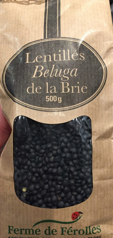 Lentilles Beluga de la Brie - Ferme Ferolles - 500 g