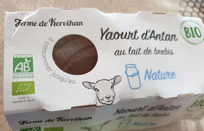 Yaourt d'Antan - Product