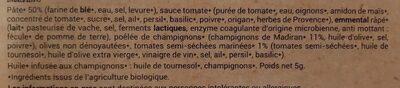 Pizza Royale - Ingrédients - fr