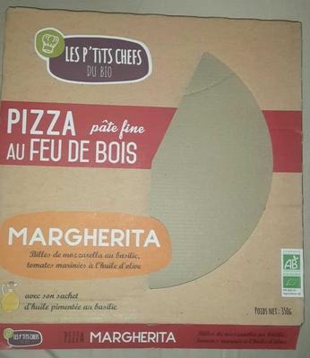Pizza pâte fine au feu de bois Margarita - Produit - fr