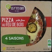 Pizza Pâte Fine Au Feu De Bois 4 Saisons - Produit - fr