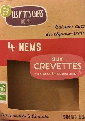 Nems Aux Crevettes - Informations nutritionnelles