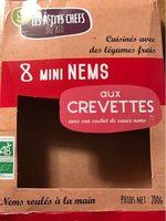 MINI NEMS AU CREVETTES X8 - Produit - fr