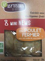 Mini nems poulet - Produit - fr
