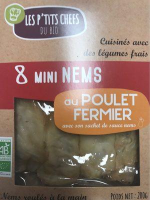 Mini nems poulet - Produit