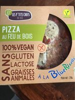 Pizza au feu de bois 100 % vegan - Product - fr
