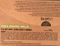 Frais & Primeur / Traiteur / Pâtes, Pizzas Et Tartes Bio - Ingredients