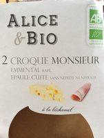 2 croque monsieur - Produit