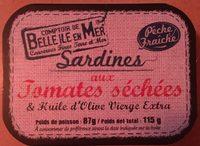 Sardines aux tomates séchées - Produit - fr