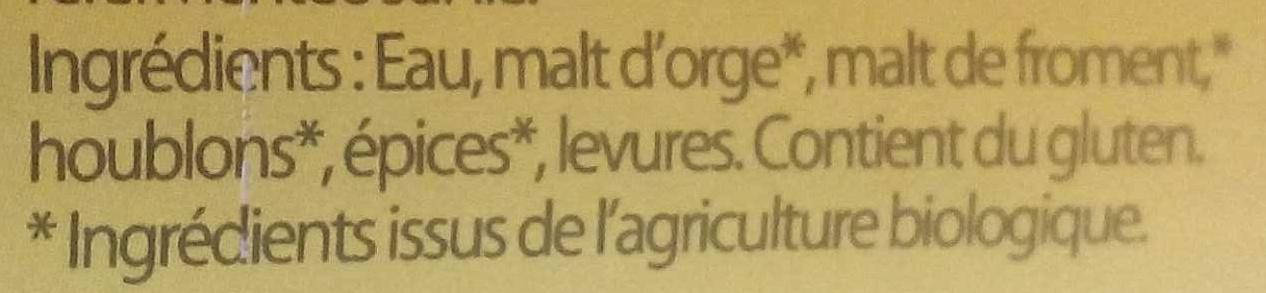 La Caenette - Ingrédients