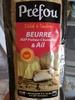 Préfou beurre et ail - Product