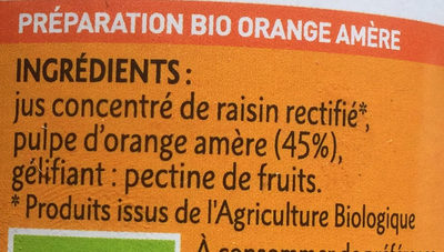 Orange amère - Ingredients - fr