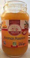 Préparation de fruits Ananas Passion bio - Produit