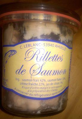 Rillettes de Saumon - Produit