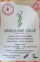 Spiruline Crue En Poudre - 250 G - Sol Semilla - Product - fr