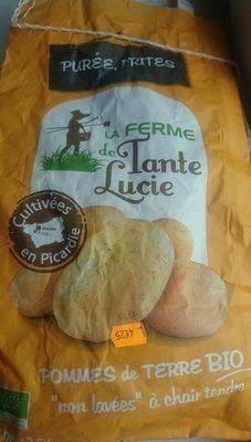 Pommes de terre bio «non lavées» à chair tendre - Prodotto