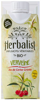 Herbalist Bio Verveine au Jus de Cerise Griotte - Product