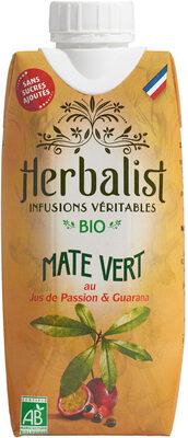 Maté Vert au Jus de Passion & Guarana - Product