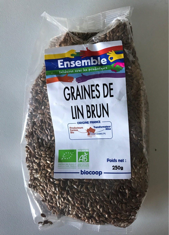 Graines De Lin Brun - Produit
